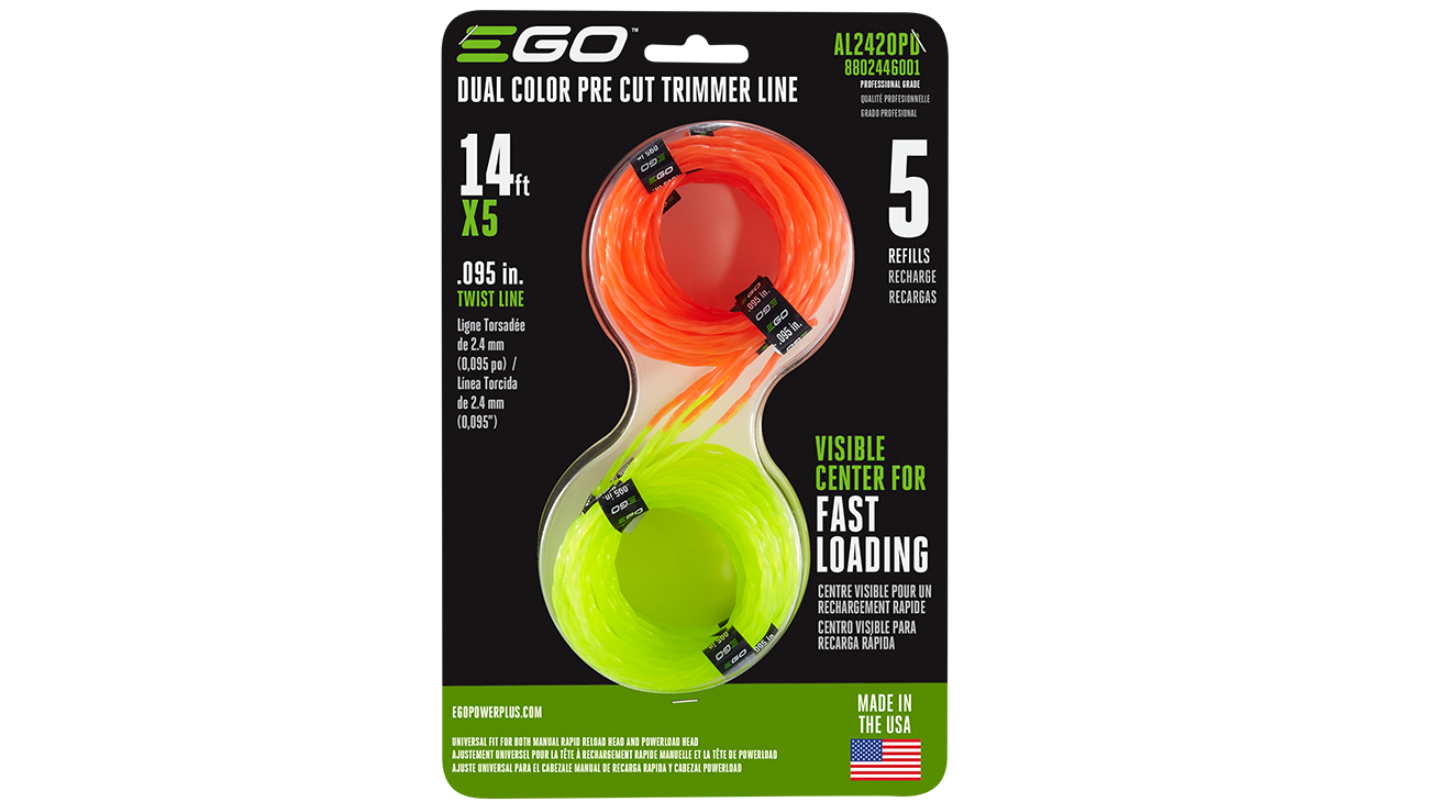 POWER+ Dual Color Pre-Cut Trimmer Line in Package