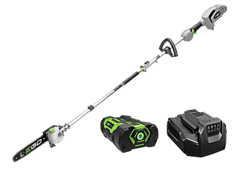 "Power+ Multi-Head Combo Kit: 10"" Pole Saw  & Power Head with 2.5Ah battery and standard charger"
