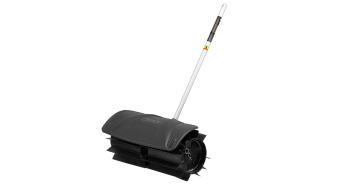 Power+ rubber broom attachment