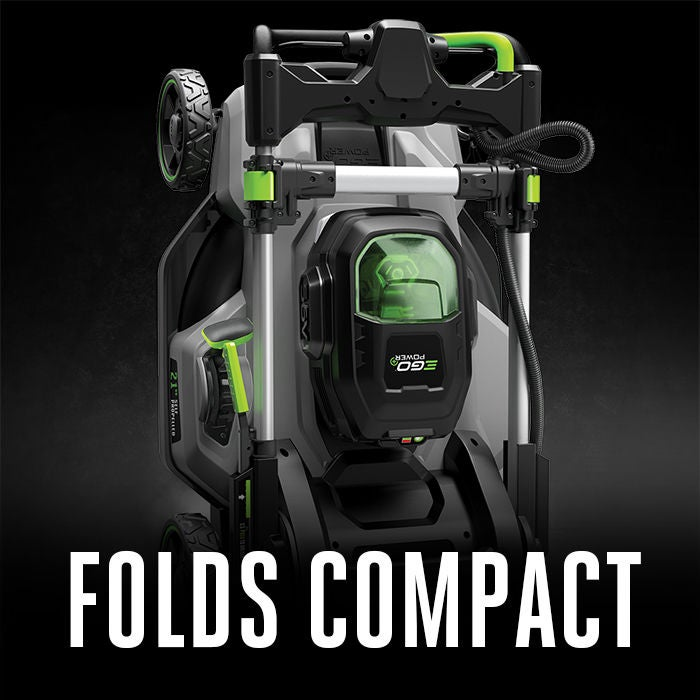 FOLDS EASILY FOR COMPACT STORAGE