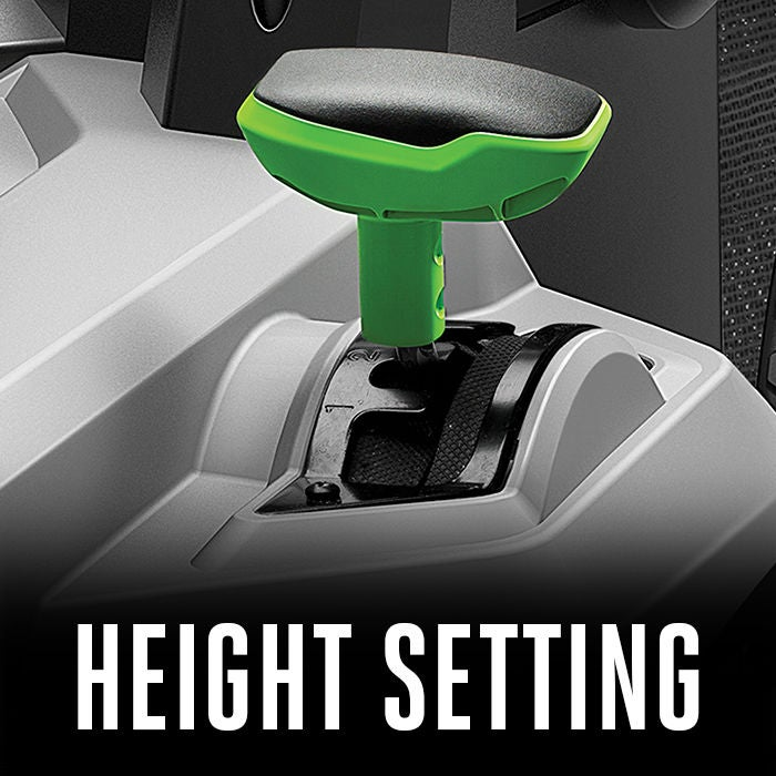 6 DIFFERENT HEIGHT SETTINGS
