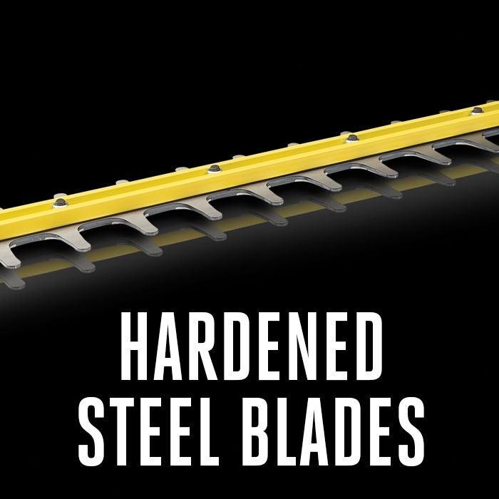 Hardened Steel Blades