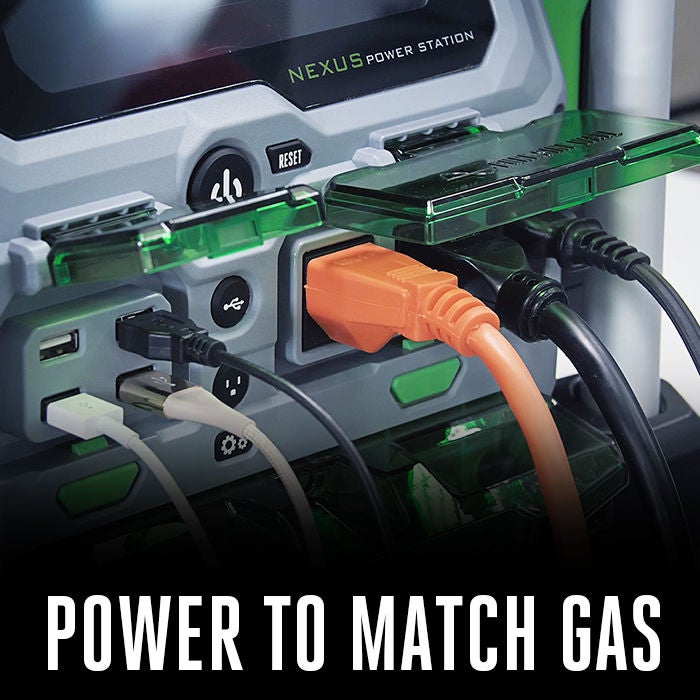 World's first battery power source to match gas generators