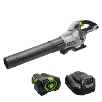 Power+ 580 CFM Blower with 5.0Ah battery and standard charger