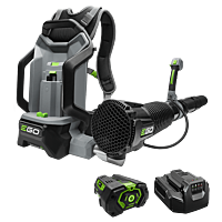 Power+ 600 CFM Backpack Blower  with 5.0Ah battery and standard charger