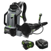 Power+ 600 CFM Backpack Blower  with 7.5Ah battery w/ Fuel Gauge and standard charger