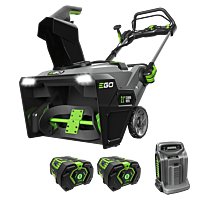 Power+ Snow Blower with Peak Power™ with (2) 7.5Ah batteries and rapid charger