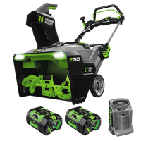 POWER+ Peak Power™ Snow Blower with Steel Auger and (2) 7.5ah Batteries and Rapid Charger