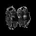 EGO Multi-Head System Cultivator Blade Set (4 pcs)