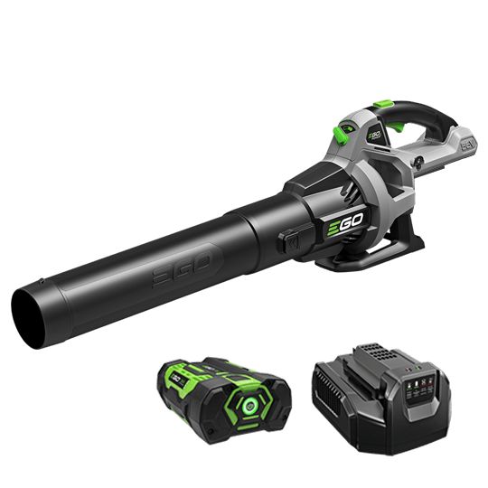 Power+ 530 CFM Blower with 2.5Ah battery and standard charger