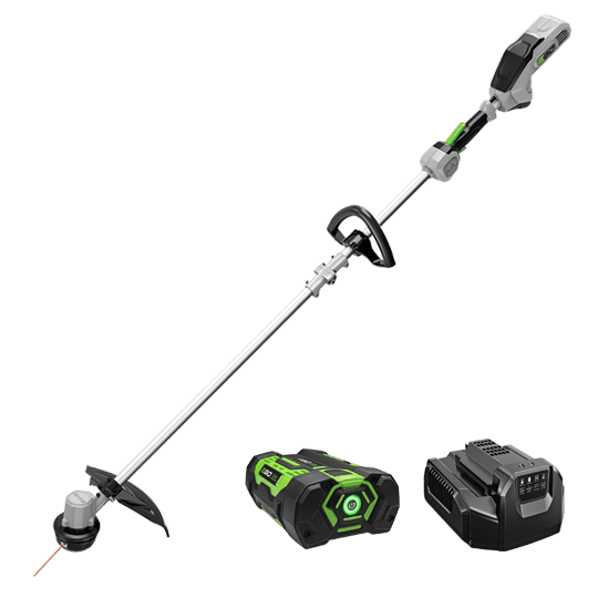 "Power+ 15"" String Trimmer w/ Split Shaft and 2.0Ah battery and standard charger"