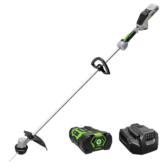 "Power+ 15"" String Trimmer w/Straight Shaft and 2.5Ah battery and standard charger"