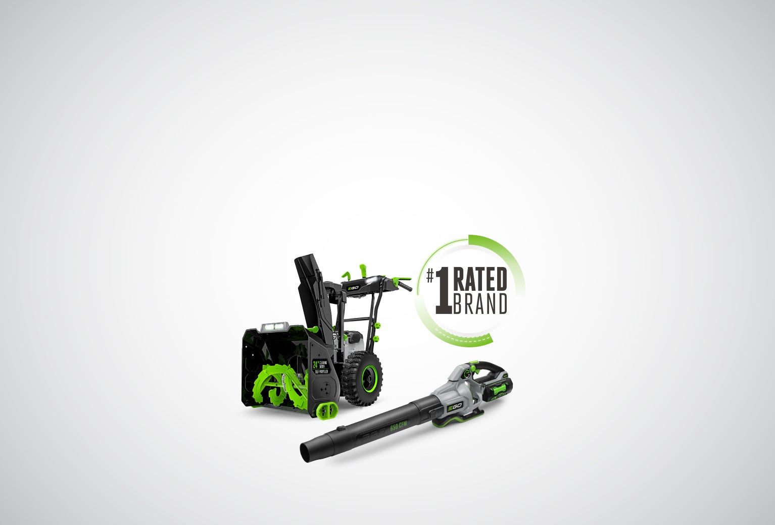 Ego Chainsaw and Blower