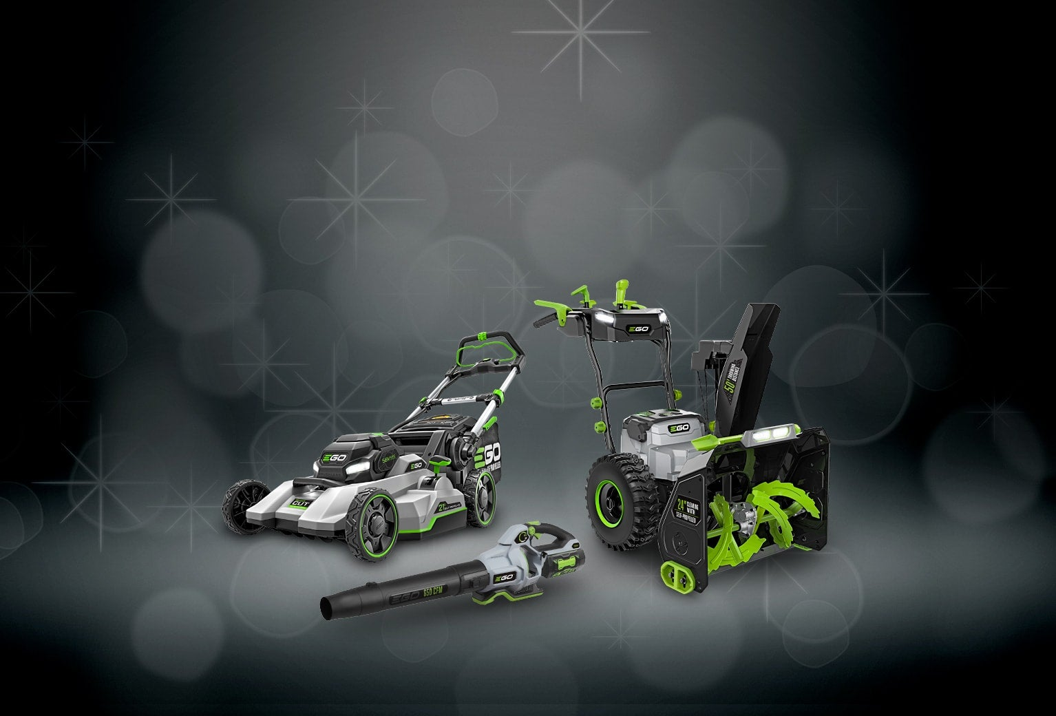 Image of EGO Mower, Blower and Snow Blower