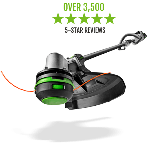 """The 15"""" String Trimmer with POWERLOAD™ has over 3,300 5-star reviews"""