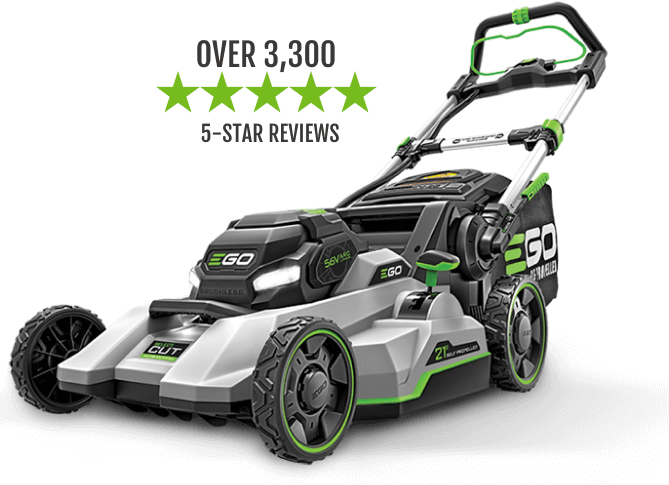 """The 21"""" Select Cut™ Mower has over 1,800 5-star reviews"""
