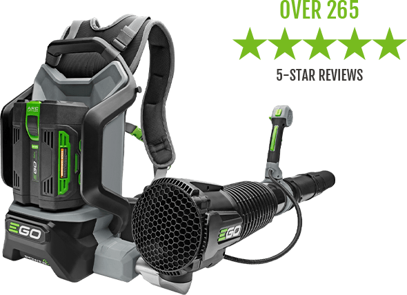The EGO Power+ 600 CFM Backpack Blower gets over 265 5-star reviews
