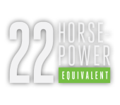 22 Horse Power Equivalent